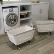 laundry basket with wheels