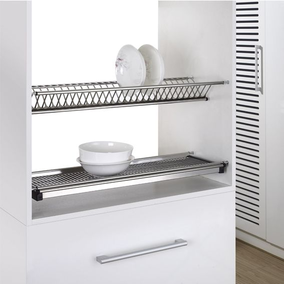 Dish Rack With Draining Plate 22 22 90100 Venace Com
