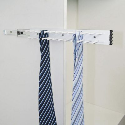 side mounted tie rack, tie rack, wardrobe fittings ,wardrobe accessories