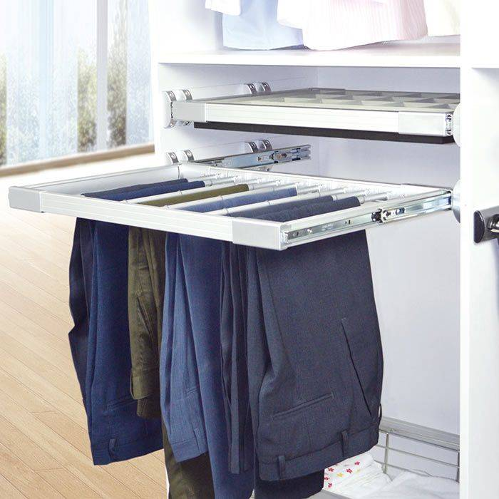 Pullout Wardrobe Pants Rack For Closet Accessories Venace