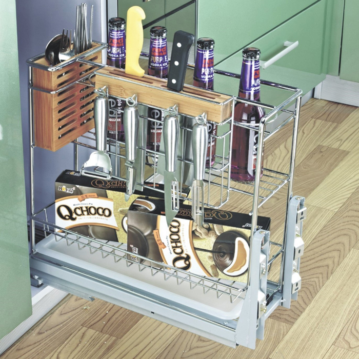 Multi-function Pull-out Kitchen Basket