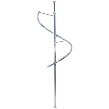 rotating clothes hanger,Spiral-Clothes-Rack