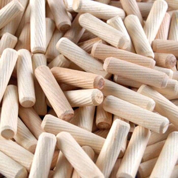 threaded wooden dowel
