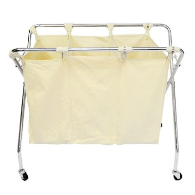Wheeled Folding Laundry Hamper
