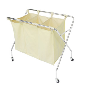 Wheeled Folding Laundry Hamper