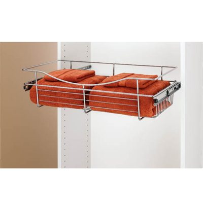 pullout wire baskets,wire basket, closet, wardrobe,pullout
