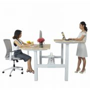 Face to Face Height Adjustable Table