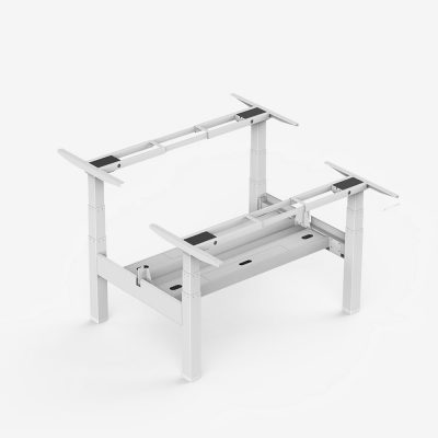 Bench-Height-Adjustable-Desk-White