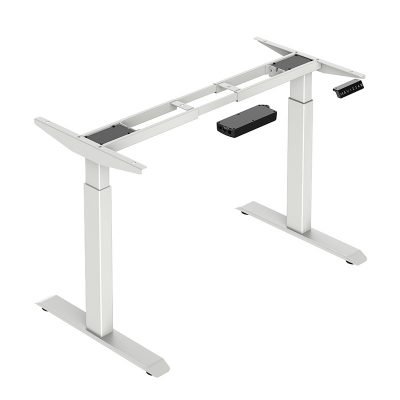 Height Adjustable Desk - Rectangular Tube Legs