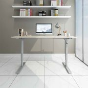 Hand Crank Manual Sit to Stand Desk 8