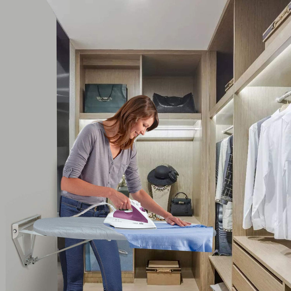 Wall-Mounted-Fold-Down-Ironing-Board