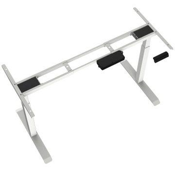 2-Stage Height Adjustable Desk – Square Tube Legs 2