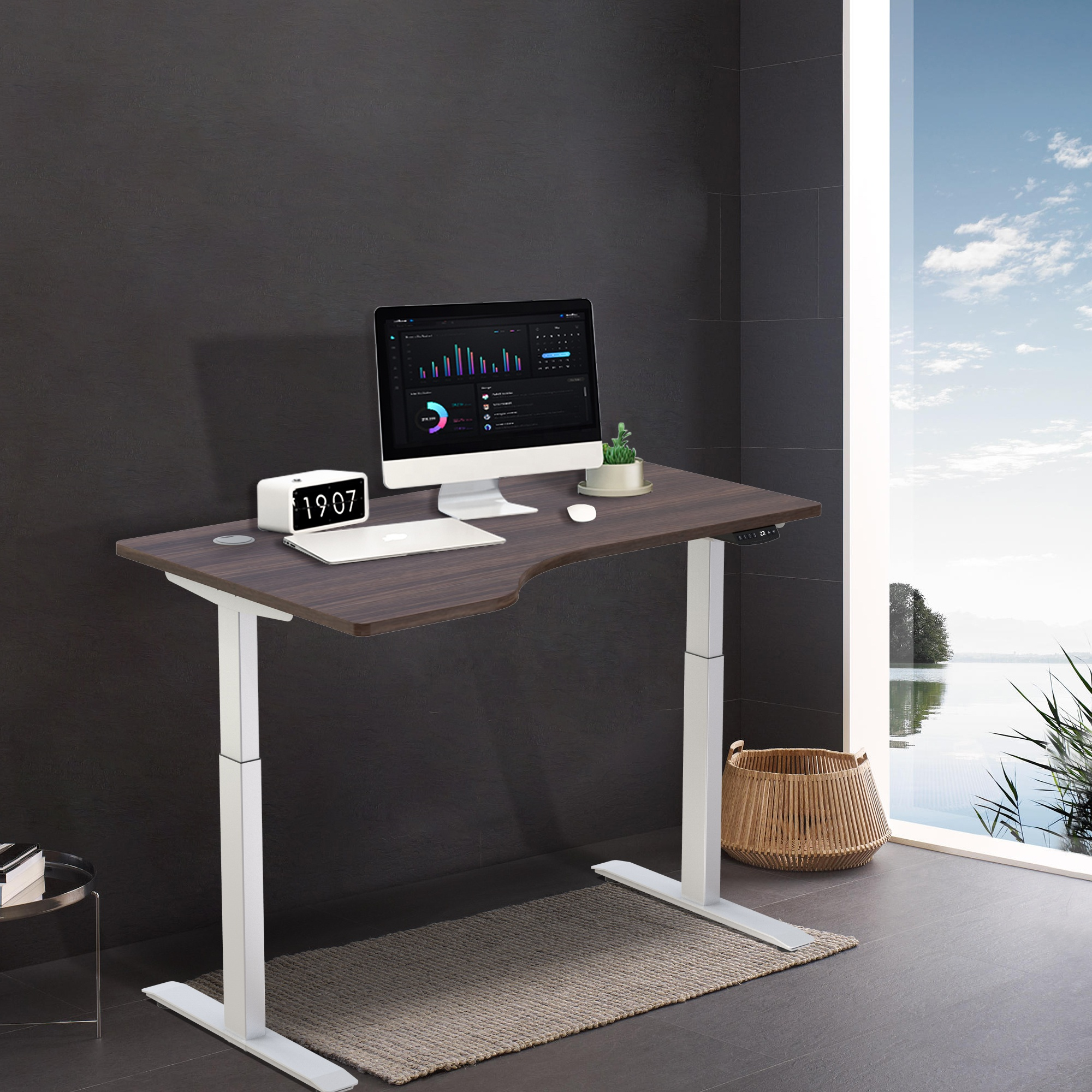 Height Adjustable Desk Scene