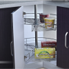 Lazy Susan Kitchen Cabinet Organizer