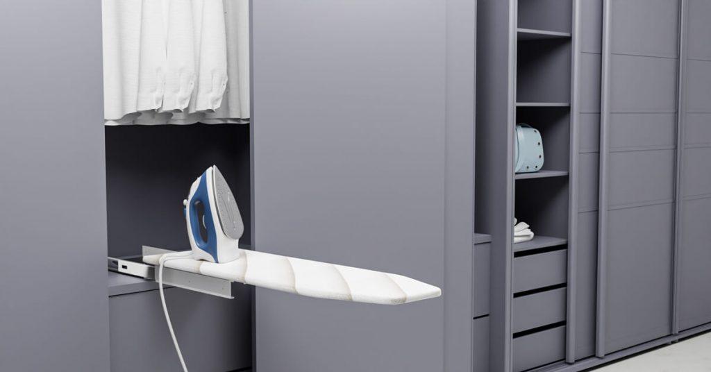 wall_mounted ironing board