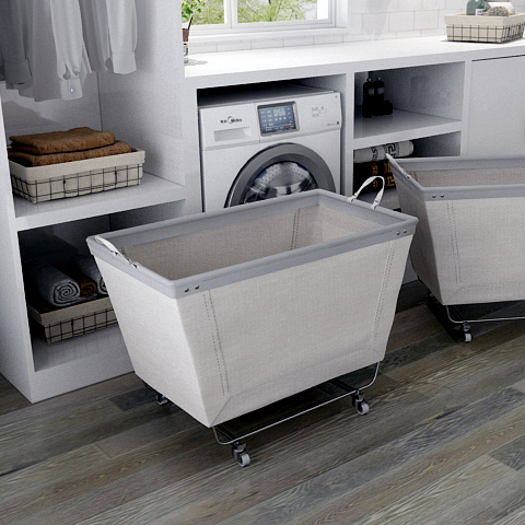 Large Laundry Cart With Wheels