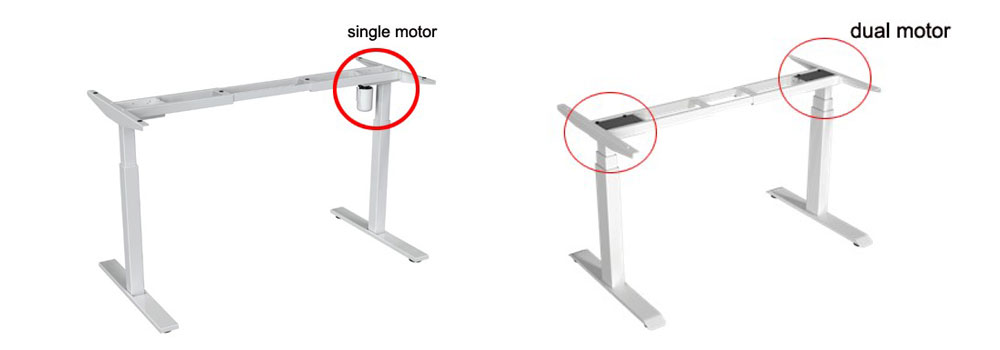 Single motor and Dual motor