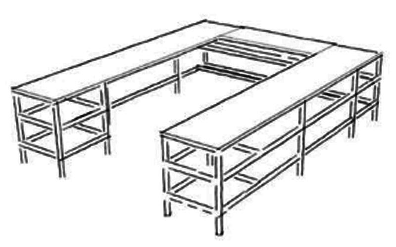 Wrap-Around-Desk-Design