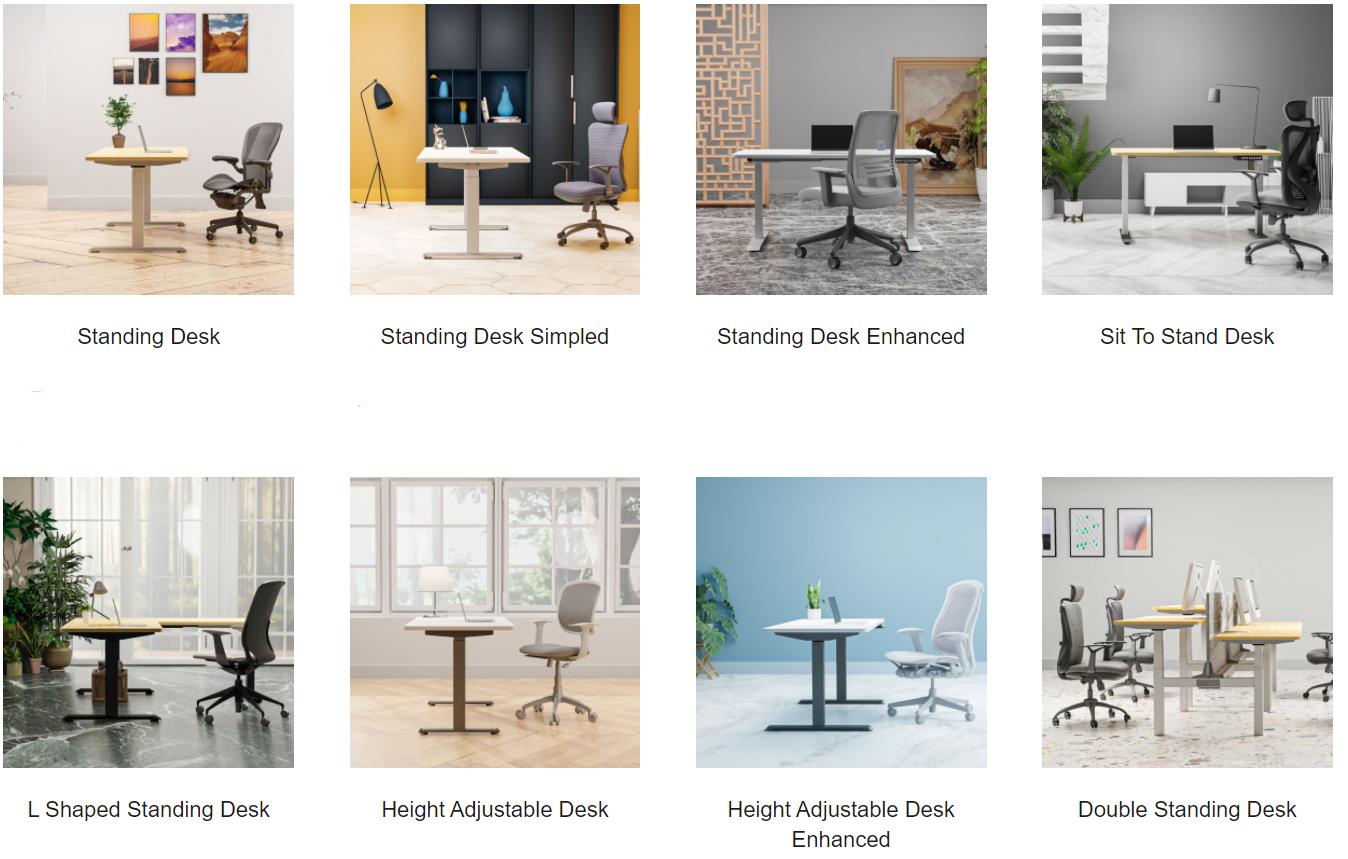 standing desk series