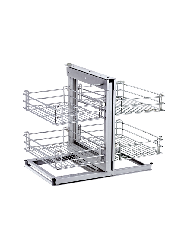 Magic Corner II Blind Corner Slide Out Kitchen Cabinet Organizer 600800