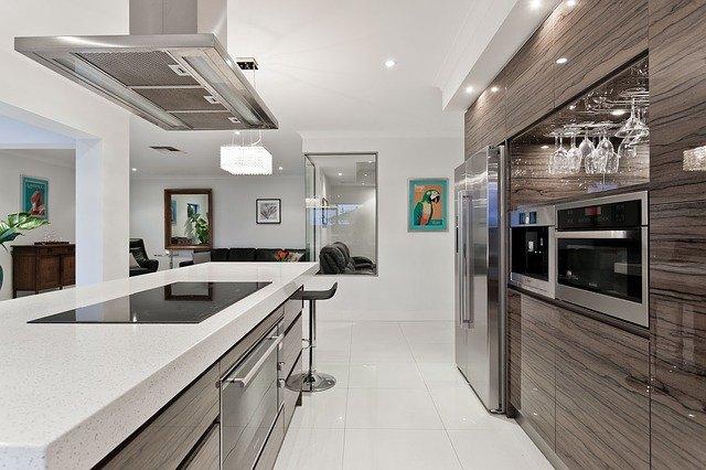 professional home kitchen