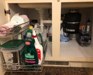 under sink organizer
