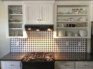 semi gloss kitchen cabinets