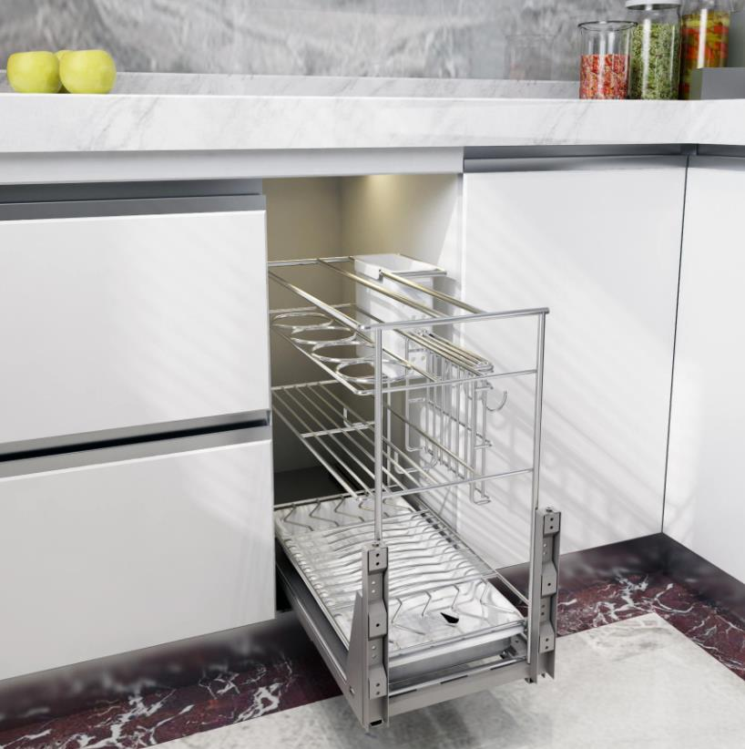 Base Cabinet Pull Out Basket